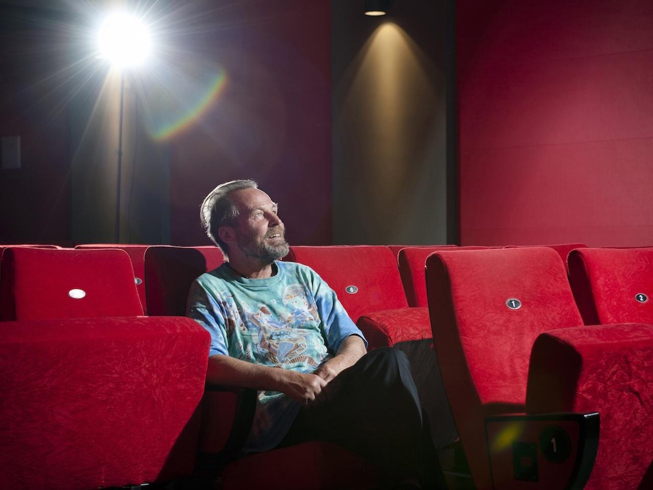 Hans-Peter Jansen, Kinobetreiber im Studio Kino in der Bernstorffstrasse